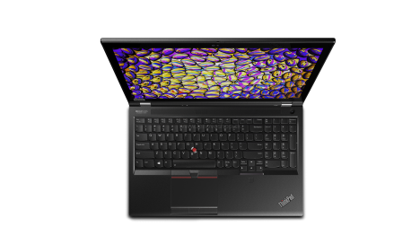 ThinkPad P53 keyboard view