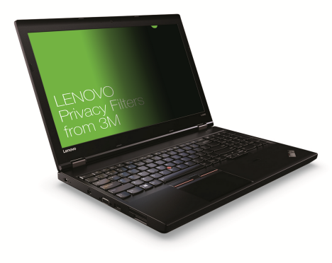 Lenovo 15.6W Laptop Privacy Filter from from 3M lefts