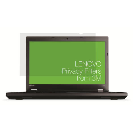 Lenovo 15.6W Laptop Privacy Filter from from 3M front