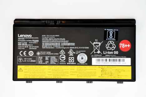 ThinkPad Battery 78 plus plus (0š)