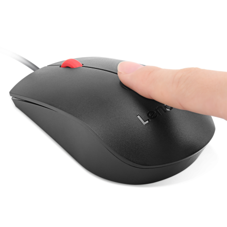 Lenovo Fingerprint Biometric USB Mouse (4Y50Q64661) 01
