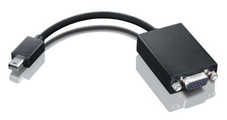 Lenovo Mini-DisplayPort to VGA Adapter 0A36536