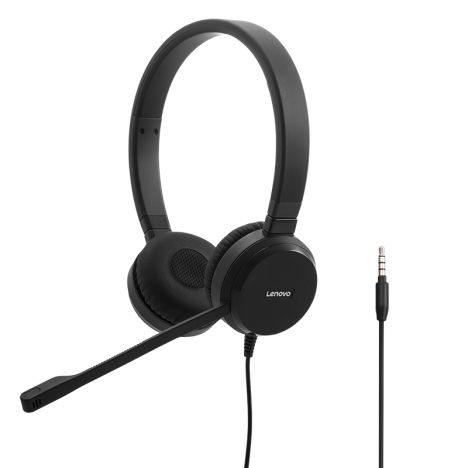 Lenovo Pro Wired Stereo VOIP Headset 4XD0S92991 (1)